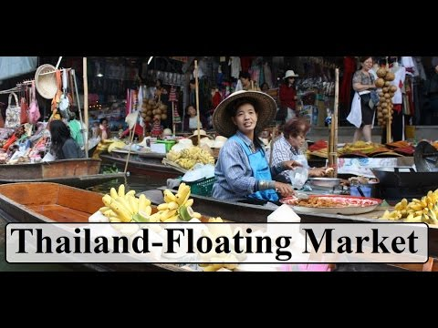 Thailand (Floating Market  Damnoen Saduak )  Part 6