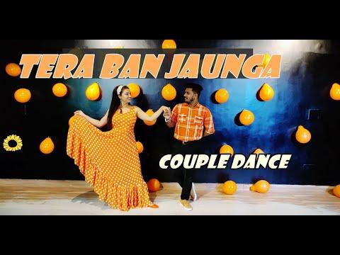 Tera Ban Jaunga | wedding Couple Dance | Easy steps | Bride & Groom dance | wedding Reception