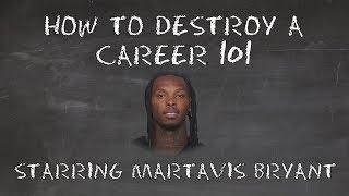 How To Destroy A Career 101: Starring Martavis Bryant