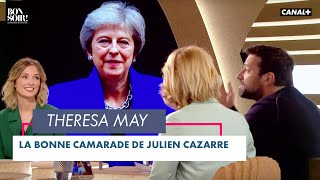 Le bon camarade: Theresa May - Bonsoir ! du 22/06 - CANAL+