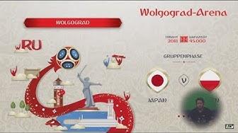 Livestream FIFA WM 2018 Japan - Polen