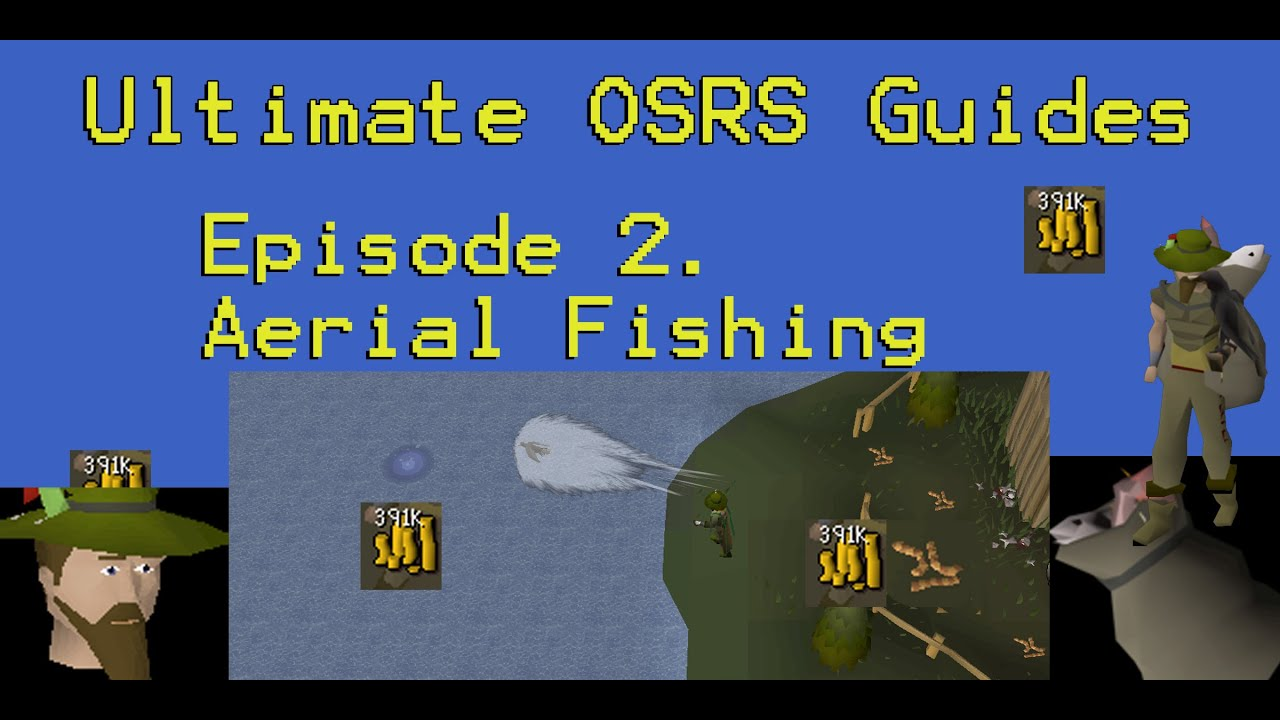Ultimate OSRS Guides - Aerial Fishing (Kebos Lowlands Quickguides)