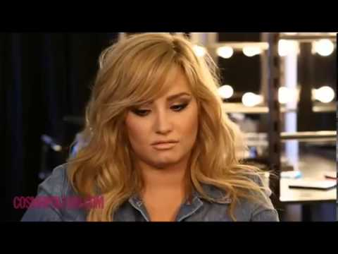 Behind the Scenes with Demi Lovato for Cosmopolitan Magazine