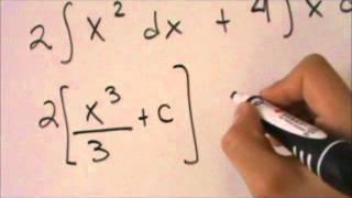 Cálculo Integral - Tutorial de Integración Básica