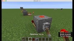 Redstone Blinker Minecraft