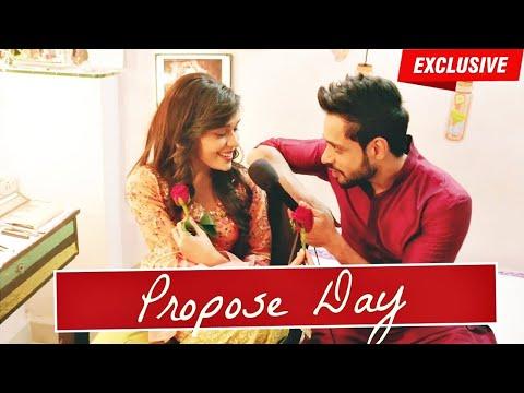 Kabeer & Zara aka Adnan Khan & Eisha Singh celebrate PROPOSE DAY   Valentines Week Special