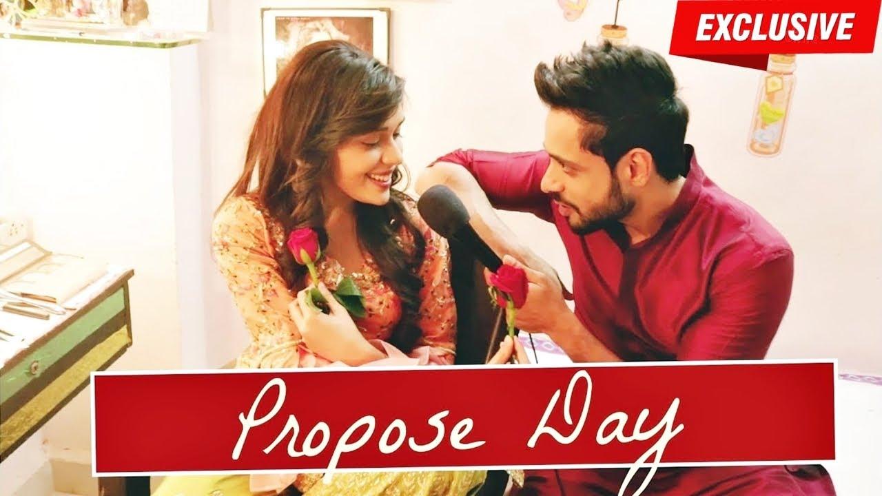 Download Kabeer & Zara aka Adnan Khan & Eisha Singh celebrate PROPOSE DAY | Valentines Week Special