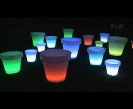 s luce spot led blumentopf licht design skapetze youtube. Black Bedroom Furniture Sets. Home Design Ideas