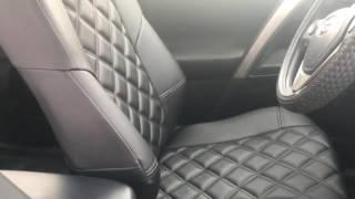 видео Модельные чехлы на TOYOTA RAV4 c 2008 по 2012 гг. серые