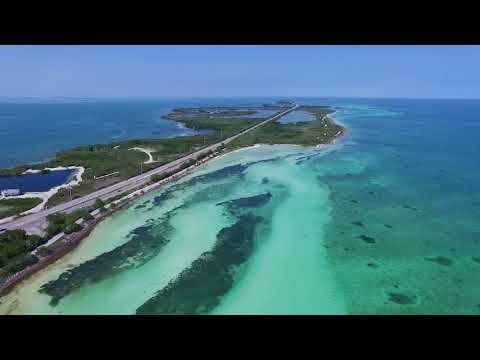 Bahia Honda State Park Drone Video