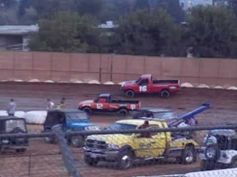 Truck Racing Placerville Speeday 08-25-2018