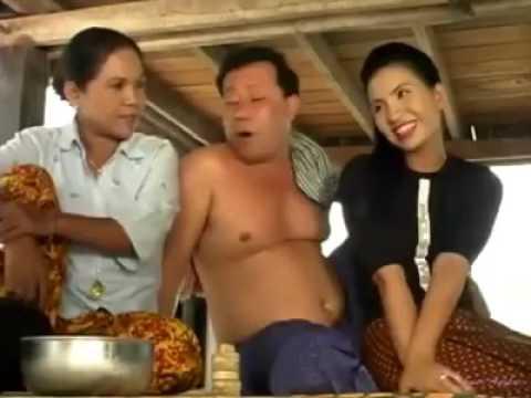 Khmer Old Comedy In 2000, Neay San Mao, Neay Kjeub, Neay Songsis