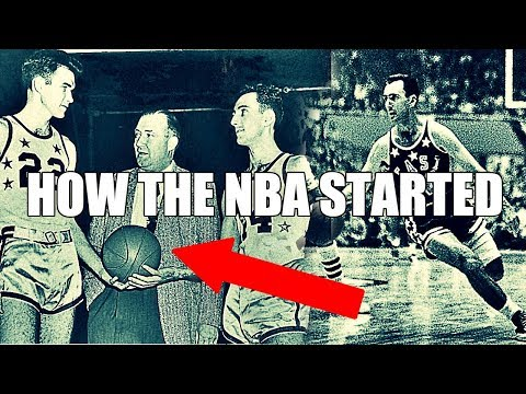 How the NBA Started! The Birth of the National Basketball Association