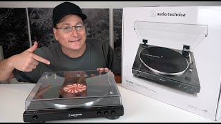 audio Technica LP60X Turntable Detailed Review, Unboxing, & Test