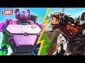 ROBOT vs MONSTER EVENT is HAPPENING NOW!! (Fortnite Battle Royale)