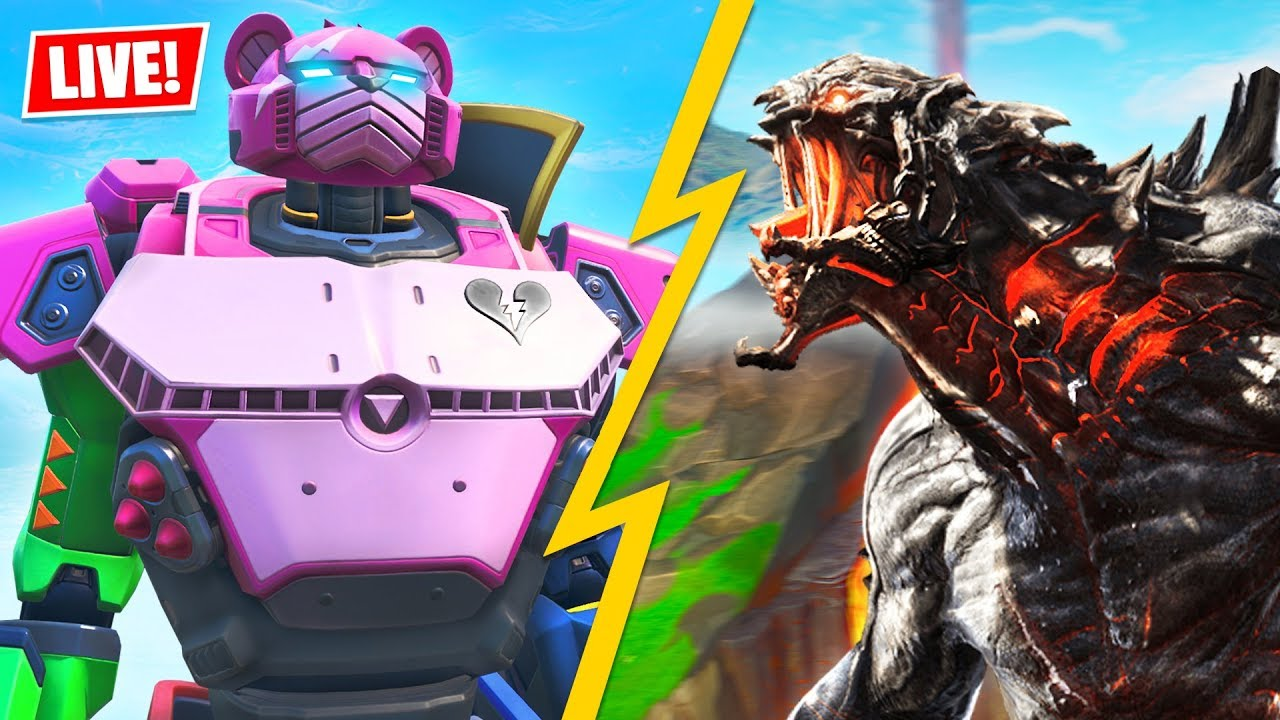 Fortnite Event: Watch what happened during the Monster vs. Robot fight