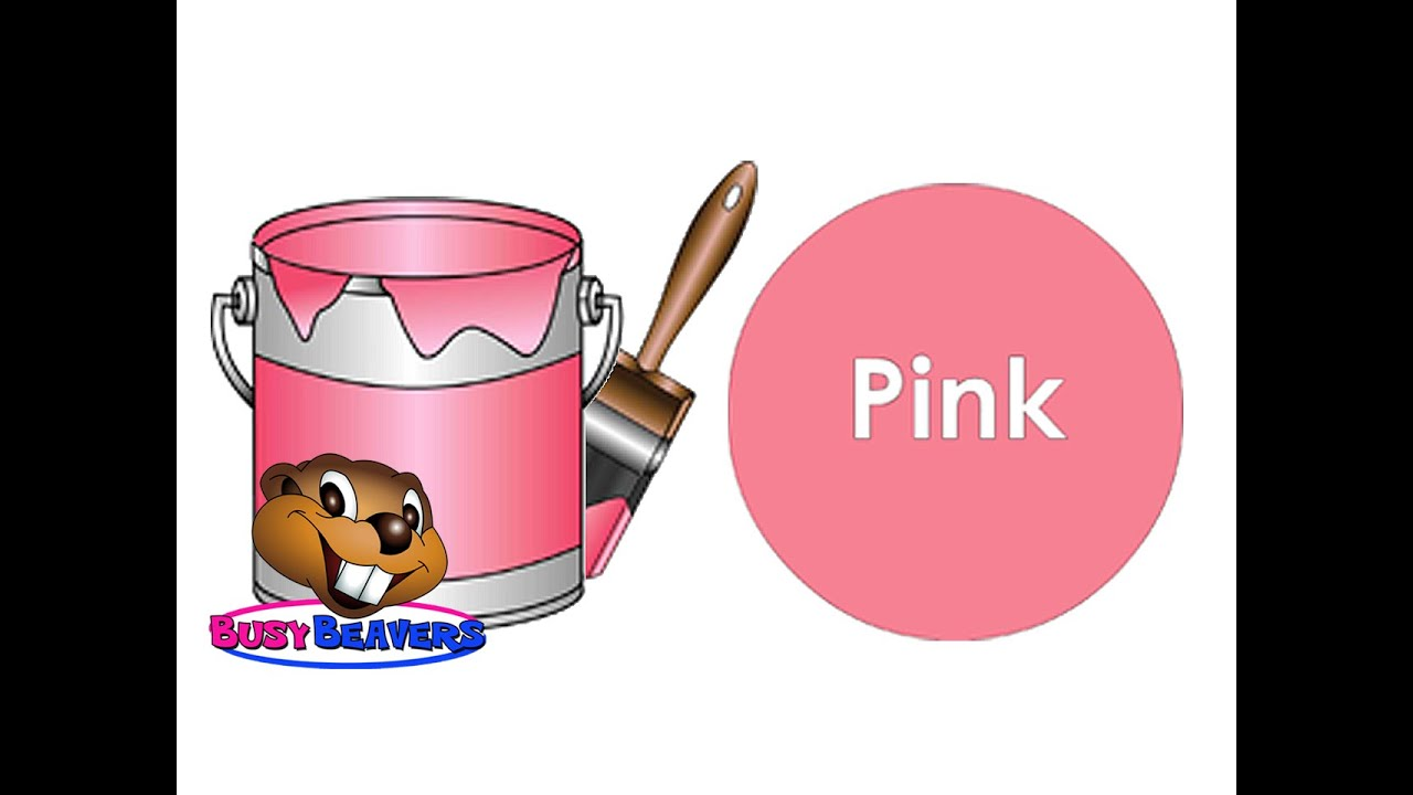 The Paint Is Pink Song Level 1 English Lesson 13 Clip Colors In Color