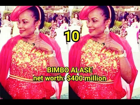 TOP 10 RICHEST WOMAN IN NIGERIA WITH THEIR NET WORTH LATEST 2018