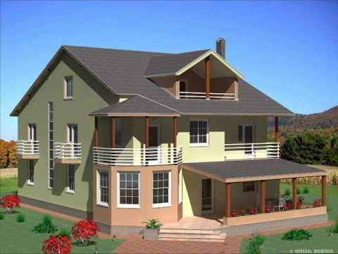 Casa ic 18 bucuresti casa cu etaj si mansarda stil for Youtube case cu mansarda