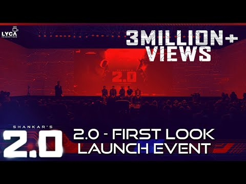 2.0 - First Look Launch Event | Rajinikanth, Akshay Kumar |
