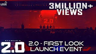 [FUll Show] 2.0 - First Look Launch Event - Exclusive | Rajinikanth, Akshay Kumar | Shankar | A.R. Rahman