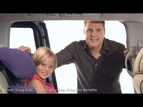 Nissan Snug Kids - Child Safety Seat Program