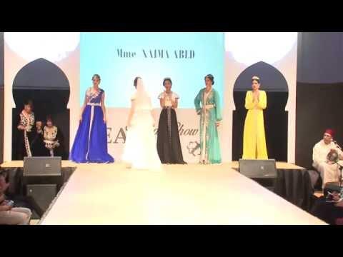 Naima Abed au Fashion Show 2015