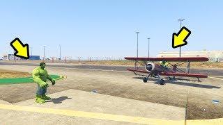 הענק הירוק החדש מותקף על ידי ענק ירוק אחר (גיטיאיי 5 מודים) - GTA 5 Mods