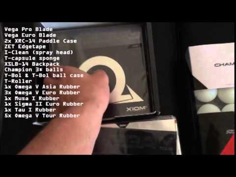 XIOM Equipment Showcase - Ping PongShots
