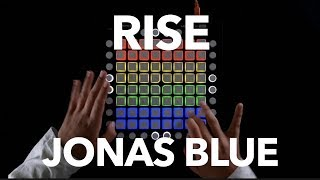 Jonas Blue - Rise ft Jack & Jack // Launchpad Cover + OUTTAKES // Collab with my Friend MJ Launchpad