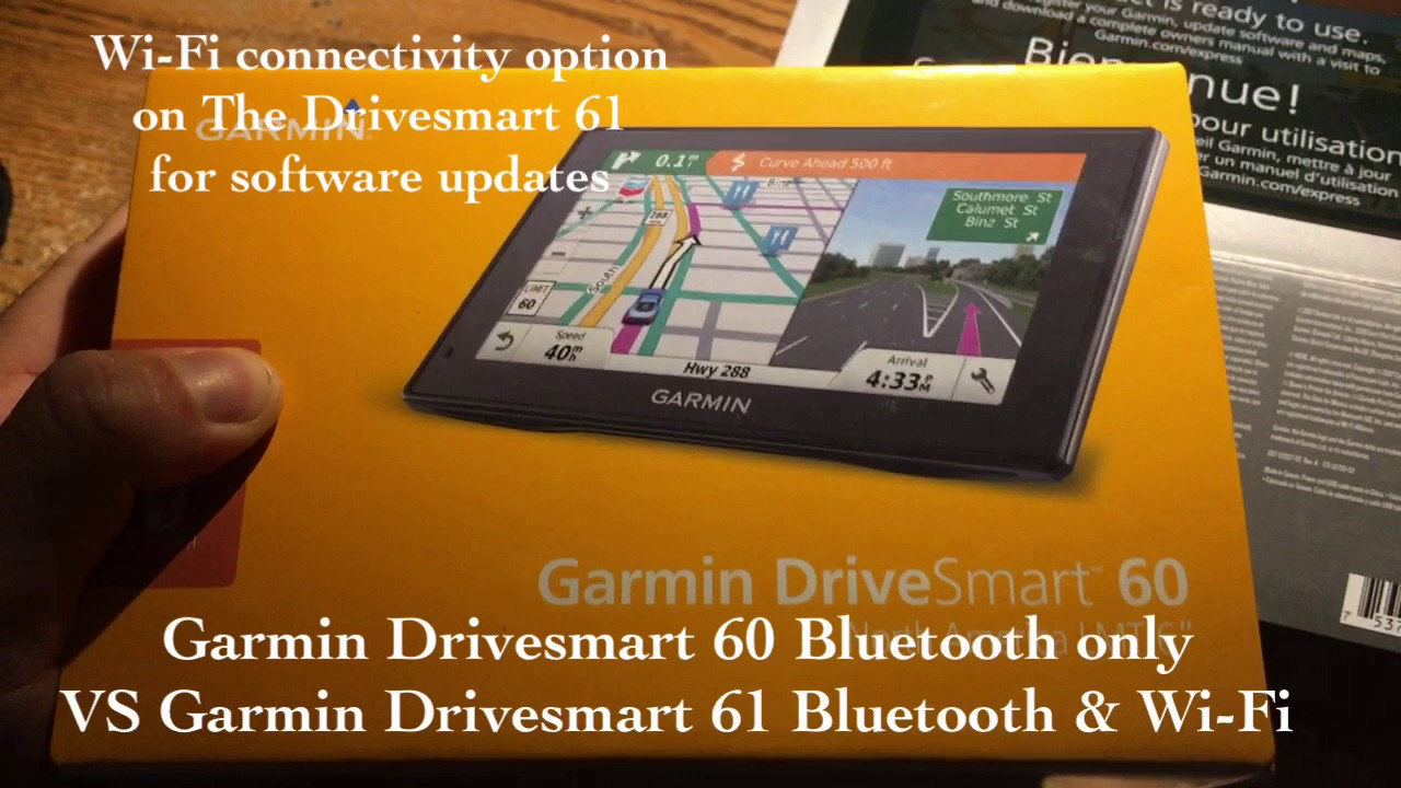 Garmin Drive Smart 61 NA LMT-S VS Drive Smart 60 GPS