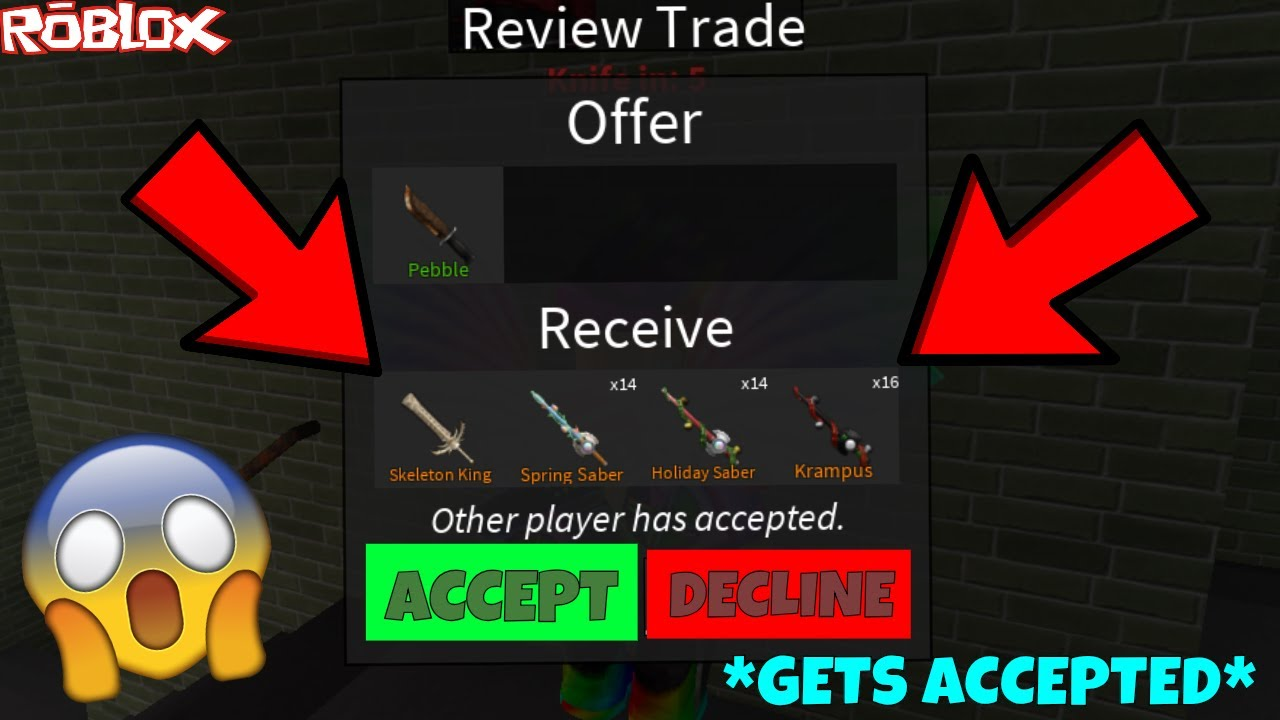 Trades For Roblox Assassin This Guy Gave Me So Many Knives For Free Over 100 Exotics Worth Roblox Assassin Best Trrades Yet Youtube