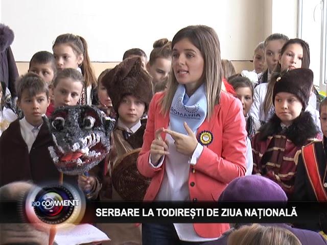 SERBARE LA TODIREȘTI DE ZIUA NAȚIONALĂ