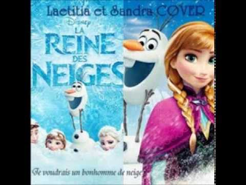 cover je voudrais un bonhomme de neige do you want a snowman la reine des neige youtube. Black Bedroom Furniture Sets. Home Design Ideas