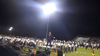 Walker Valley HS Marching Band - Oct 19, 2013