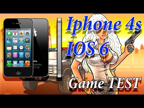 Iphone 4s на IOS 6  в 2020 году || ТЕСТ ИГР  + ссылки на скачивания