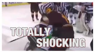 Shocking Unsportsman Moments And Dirty Play In Pro Sport - Huge Sportsman Fail Compilation