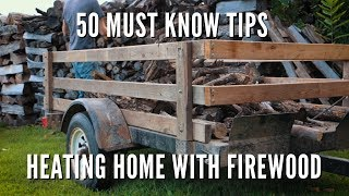 50 Must know heating with firewood tips and tricks for 2019