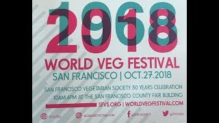 The San Francisco Veg Society's 50th Year, through September 8. 2018