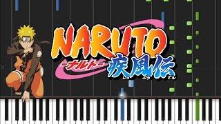 Naruto - Temari Theme [Synthesia Tutorial]