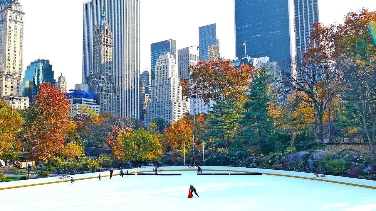 Central Park Walk Manhattan Tourist Attraction New