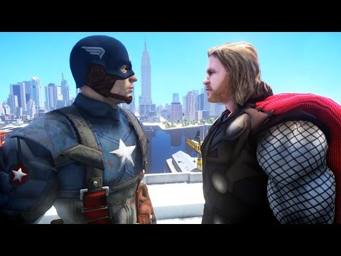 CAPTAIN AMERICA VS THOR - EPIC BATTLE