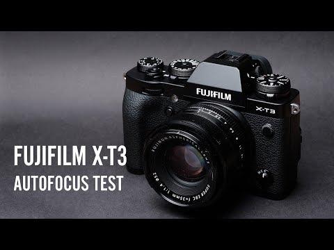 Fujifilm X-T3 Autofocus Test - Single Point and Face Detect