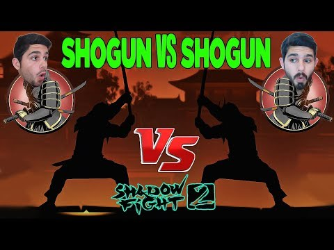 Shogun Oldum ! Shogun Vs Shogun ! Shadow Fight 2 Mod ! Shogun Set