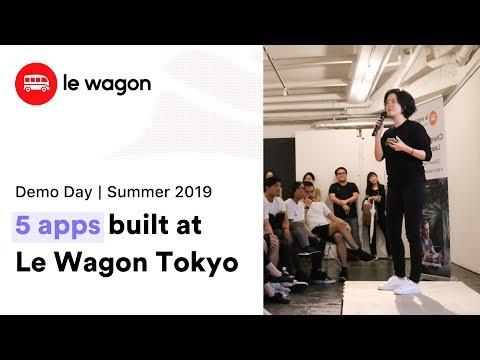 Coding Bootcamp Tokyo | Le Wagon Demo Day - Summer 2019