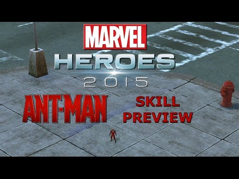 Marvel Heroes: Ant-Man Skill Preview