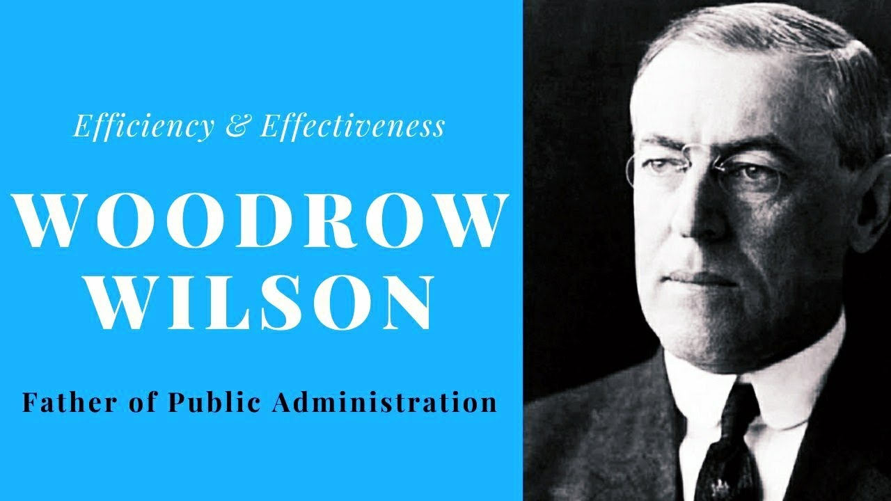 the father of public administration