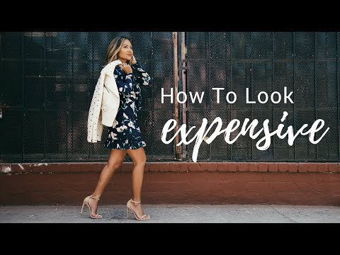 How To Look Expensive On a Budget & Taking the Next Step to Higher End Clothing