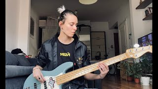 The Cure - It's Not You (bass cover)