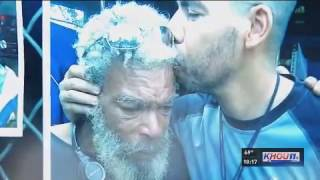 Homeless painter reunites with long-lost son